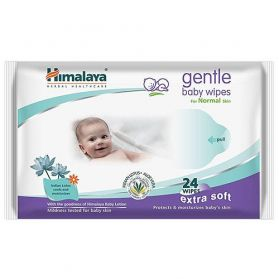 High quality Baby wipes which keep the skin soft and supple. Plays a vital role in moisturizing the skin and helps in alleviating skin irritation. Consists of natural ingredients which is baby skin friendly and the new pH balanced formula reduces the sk