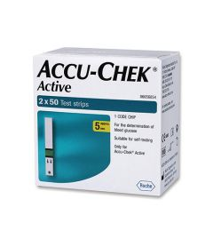 Accu-Chek Active Strip (Box of 100 strips)