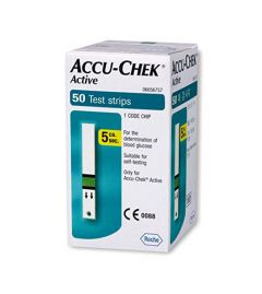 Accu-Chek Active Strip (box of 50 strips)