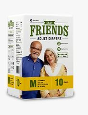 ADULT DIAPER FRIENDS EASY MEDIUM  10S