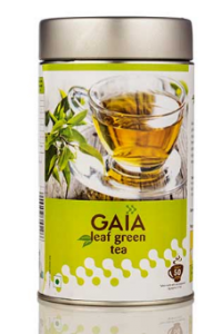 Gaia Leaf Green Tea 100G
