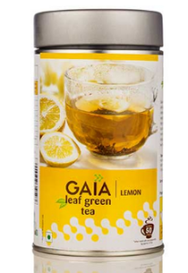 Gaia Leaf Green Tea – Lemon 100G
