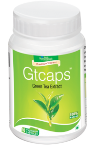 Gtcaps : Green Tea Natural Extracts