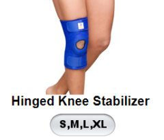 VRPL HINGED KNEE STABILIZER (XL,XXL)