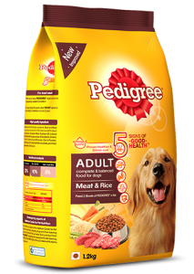 Pedigree Adult Meat and Rice 10KG