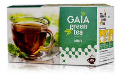 GAIA Green Tea + Mint 25's