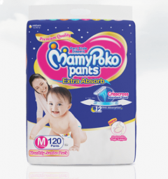 MamyPoko Pants EXTRA ABSORB MEDIUM 120'S
