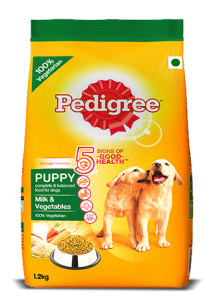 Pedigree Puppy Milk and Vegetable 1.2KG