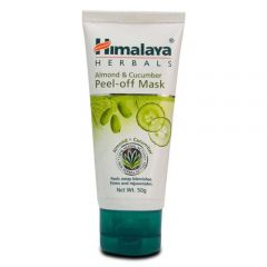 Almond & Cucumber Peel-off Mask unclogs pores and peels away blemishes to reveal healthy, glowing skin.