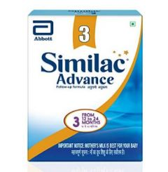 SIMILAC ADVANCE 3 PKT 400GM