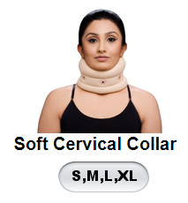 VRPL SOFT CERVICAL COLLAR (S,M,L,XL)