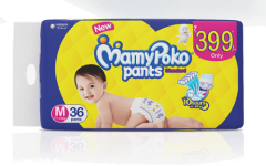 MamyPoko Pants STANDARD MEDIUM 36'S