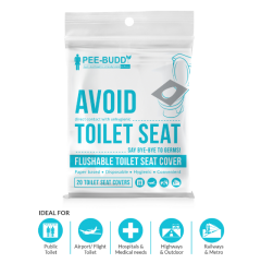PeeBuddy Toilet Seat CoveR