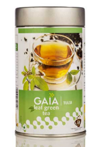 Gaia Leaf Green Tea – Tulsi 100G