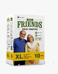 ADULT DIAPER FRIENDS EASY XL  10S