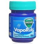 Vicks VapoRub gives you 8 hours of relief from cough and cold so you can enjoy a full night of restful sleep, even with a cold.