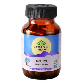Brahmi 60 Capsules Bottle