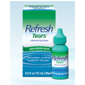REFRESH TEARS LUBRICANT EYE DROPS  10ML