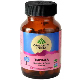 Triphala 60 Capsules bottle
